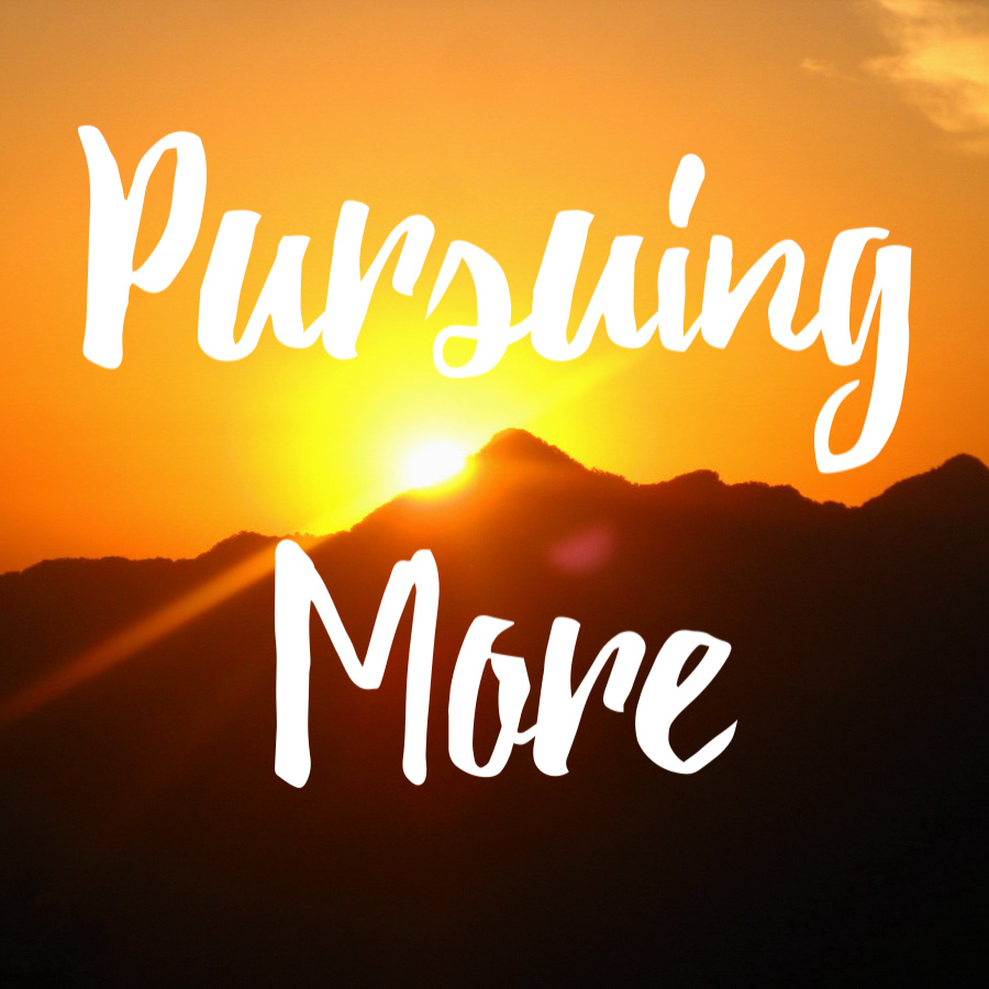 Pursuing More