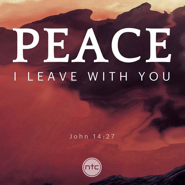 Peace greater than fear
