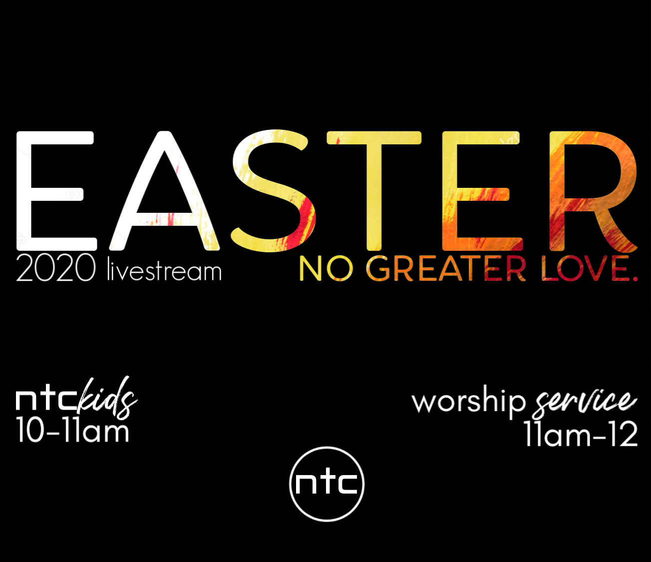 Easter Sunday- No Greater Love